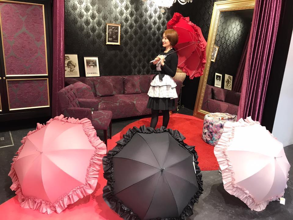 ★☆★【アモリコ】可愛いフリルたっぷりな傘の展開を始めました★☆★