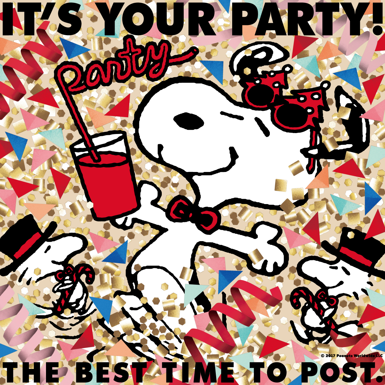IT'S YOUR PARTY THE BEST TIME TO POST!