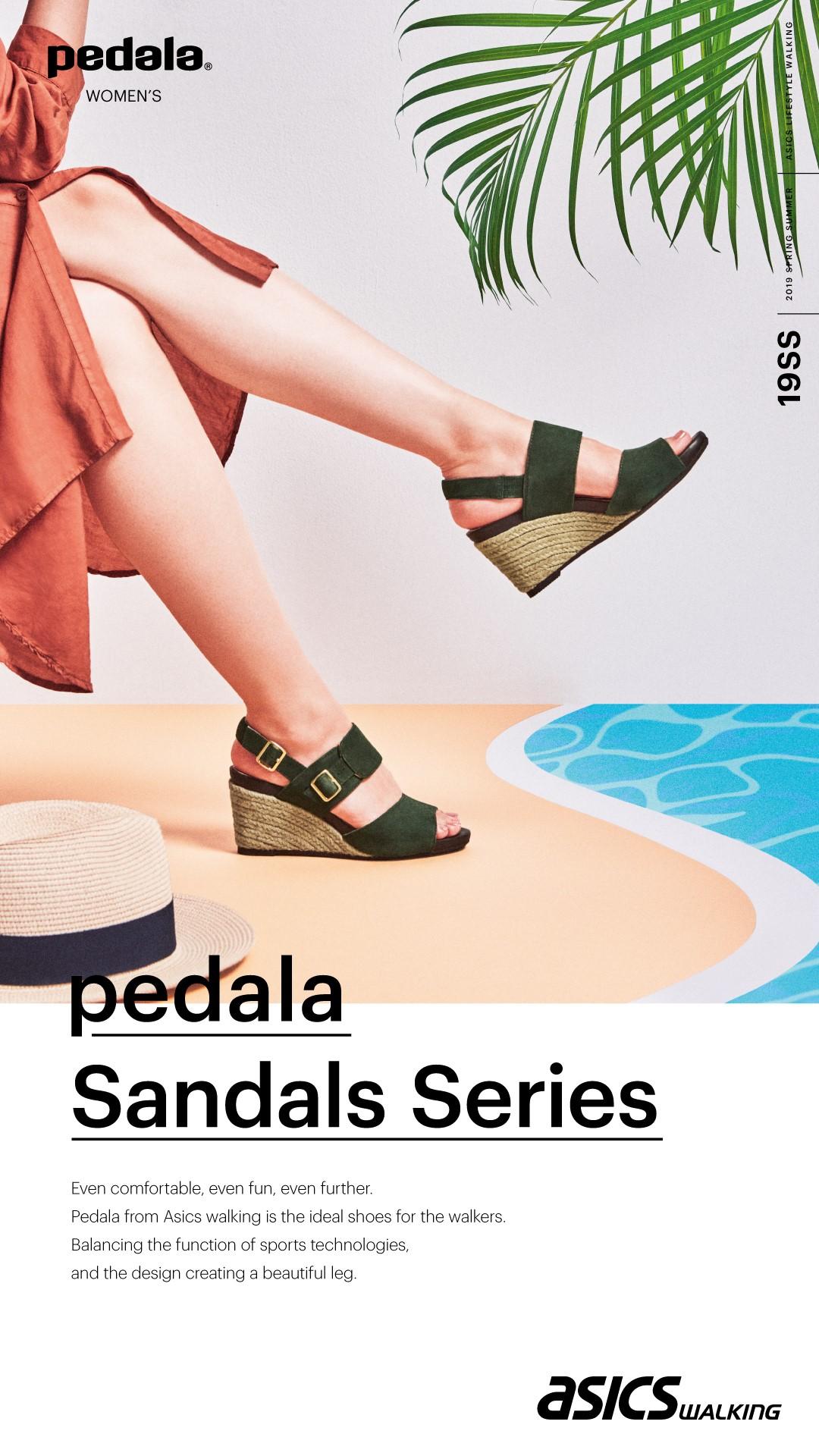 ☆レディース pedala サンダル入荷☆
