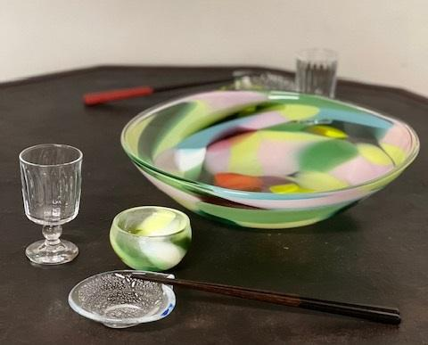 色工房 荒木桜子 海のガラス展開催